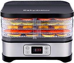 GWFVA 5 Plateaux Mini déshydrateur Alimentaire électrique déshydrateurs ménagers Robot culinaire séchoir Alimentaire Vapeu...