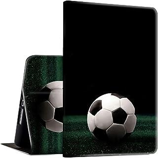 Funda para Galaxy Tab E 9.6, SM-T560/T561/T565, Rossy Smart Cover con soporte ajustable y función de encendido/apagado automático para Samsung Galaxy Tab E 9.6 pulgadas, balón de fútbol