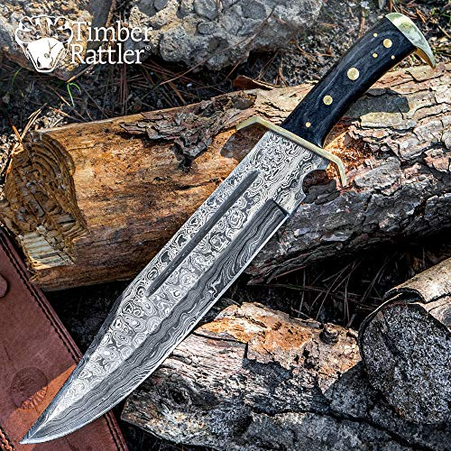 Bowie Knife (Western Outlaw Damascus)