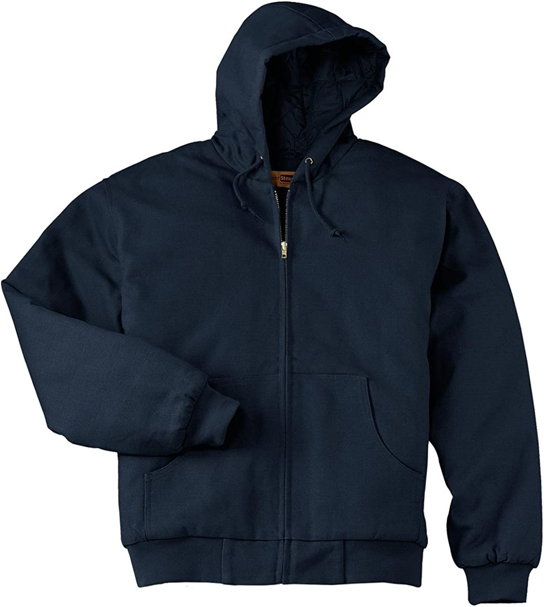 Port Authority Cornerstone Men's Big and Tall Hooded Drawcord Work Jacket