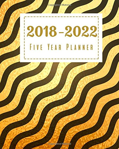 2018 - 2022 Five Year Planner: Monthly Schedule Organizer |Agenda Planner For The Next Five Years, 6