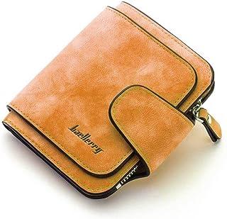 Baellirry Wallet Woman Card Holder Clutch Casual Orange