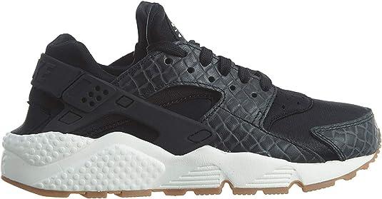Nike [683818-004] AIR Huarache Run Premium WMNS Womens Sneakers NIKEANTHRACITEM