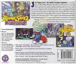 1 X Pajama Sam 2 ~ Thunder and Lightning Aren't So Frightening [ CD-ROM ] { Windows and Macintosh }