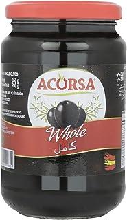 Acorsa Black Olives, 350 g