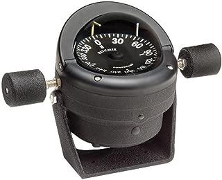 Ritchie Black HB-845 Helmsman Steel Boat Compass - Bracket Mount