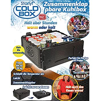 Starlyf® Cold Box Boîte Isotherme Pliable Chaud Froid