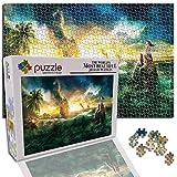 GFSJJ 1000 Piezas Puzzles 1000 Piezas Paisaje Fantasía Sirena Jigsaw Puzles para Niño Infantiles Adolescentes Adultos Hombre Regalos para Navidad (29.5 X 19.7 Pulgada)