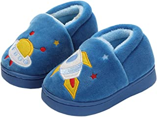 Image of Spaceship Rocket Slippers for Boys and Toddlers