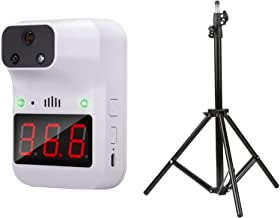 Thermometer With Stand, Decdeal K3+ IR Touchless Thermometer, Tripod Bracket for Thermometer Adjustable Height 1.6M 1/4 Sc...