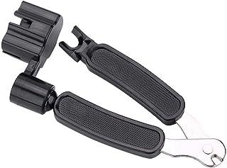 Dilwe 3 en 1 Outil de Guitare, Coupe-Cordes + Enrouleur de Cordes + extracteur de Chevilles Accessoires pour Guitare Basse