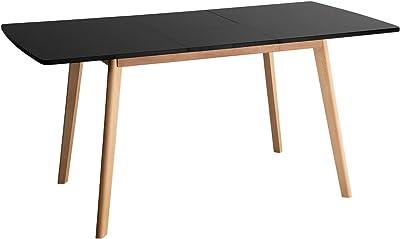 Happy Garden Table Extensible 120/160cm Noire Helga