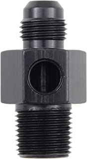 Male x 1//8 FPT Gauge Adapter Inline -4 Fragola 495021-BL Size