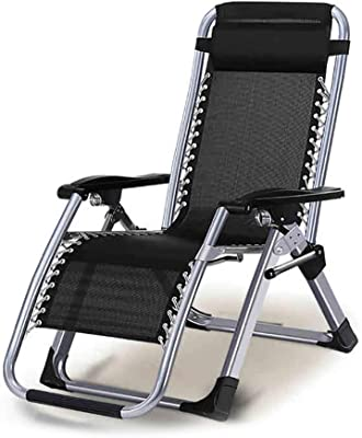 XXYY Folding Chair Lunch Break Recliner Beach Chair Siesta Chair Office Leisure Single Folding Recliner