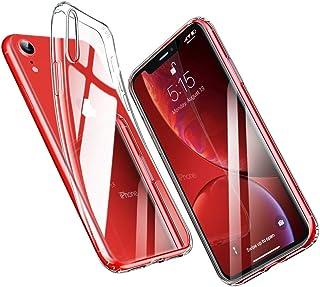 ba4b6c4b016 ESR Funda para iPhone XR, Funda Suave TPU Gel Ultra Fina Protección a Bordes  y