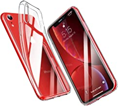 "ESR Funda para iPhone XR, Funda Suave TPU Gel Ultra Fina Protección a Bordes y Cámara Compatible con Carga Inalámbrica Enjaca para Apple iPhone XR de 6.1""-Transparente"