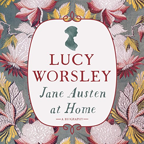 Jane Austen at Home audiobook cover art