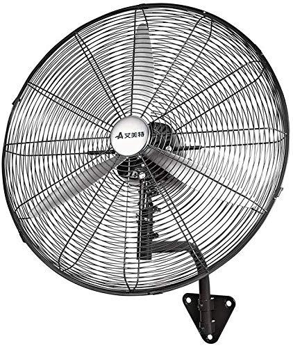 650 mm/750 mm claxon ventilator met drie snelheidsniveaus, industriële, wandmontage, groot volume, krachtige ventilator met beweegbare kop.