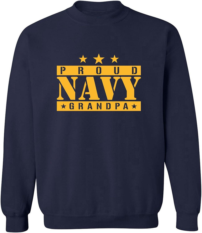 PROUD NAVY GRANDPA Crewneck Sweatshirt