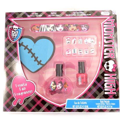Monster High [K8659] - Coffret manucure 'Monster High' noir rose