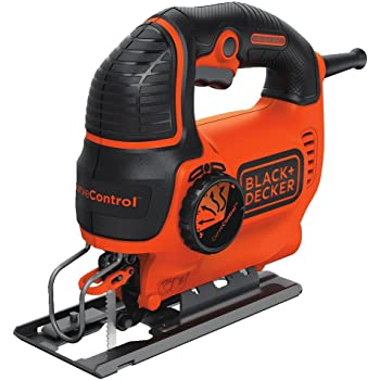 BLACK+DECKER Jig Saw, Smart Select, 5.0-Amp (BDEJS600C)