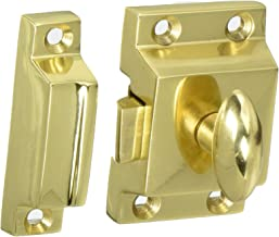 Nostalgic Warehouse Flush Catch, Polished Brass