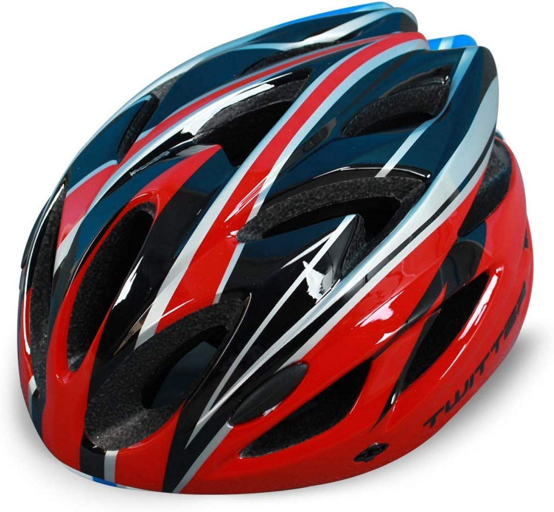 WANGZZZ Helm Mountainbike Fahrradhelm Integrierte Super Light Rennradhelm Reiten Sicherheitsausrüstung, B