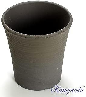 鉢 三河焼 KANEYOSHI 【日本製/安心の国産品質】 陶器 植木鉢 オーキッド 古風焼 6号