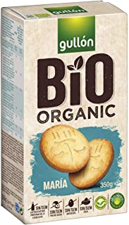 Gullon Maria Bio Biscuits, Organic Farming, 100% vegetal, Healthy Cookies 350GR