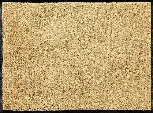 ID Mate C12018001 Alfombra de Confor-Felpudo Fibra de Nailon, Caucho nitrilo, Color Beige, Beige, 120 x 180 cm