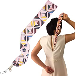 Pink Zipper Puller for Dress and Boots Jewelry Design Zipper Helper Zip Up and Down Pull Assistant with Easy Zip Aid Puller by Yourself