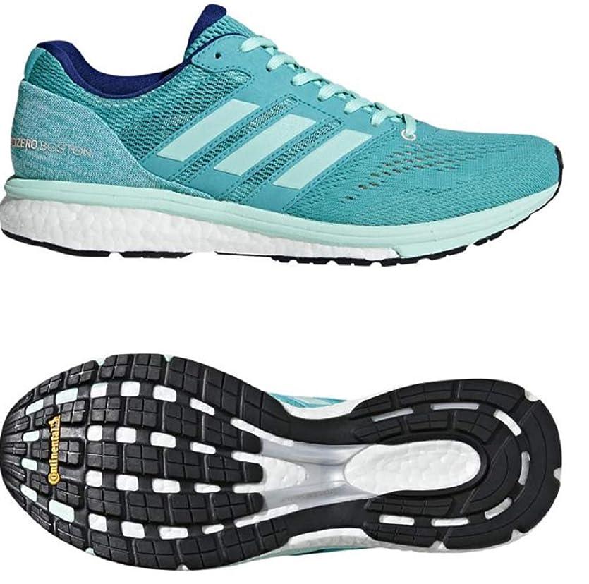 繁雑ラック不愉快にアディダス adidas ランニングシューズ 25.0cm(レディース) アディゼロ ボストン ブースト ADIZERO boston boost 3 W 国内正規品 BB6498 ハイレゾアクア