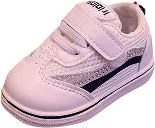 Chaussures dautomne Chaussures pour Enfants Sequin Petites Chaussures Blanches Chaussures d/écontract/ées Sneakers LANSKIRT /_ B/éb/é enfant Chaussons b/éb/é