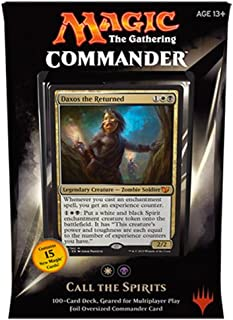 MTG Commander 2015 Edition Magic the Gathering - Call the Spirits White Black Deck New Sealed