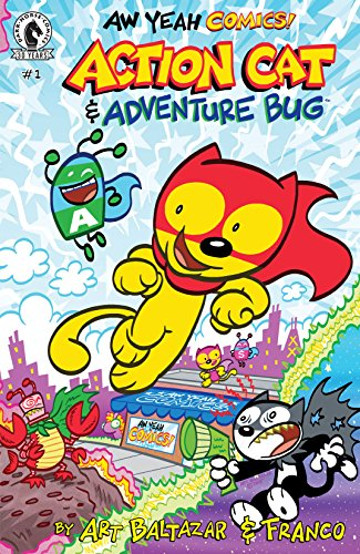 Aw Yeah Comics: Action Cat & Adventure Bug #1 (English Edition)