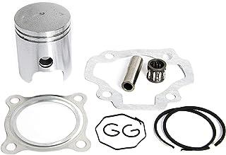 D-Simpleapparel- Piston Ring Kit Gasket Wrist Pin Bearing Set For Yamaha Pw50 Pw 50 Y-Zinger