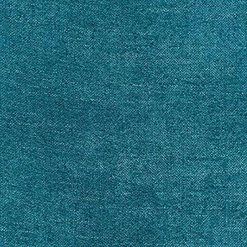 56  Wide Solid Drapery Upholstery Chenille Fabric Peacock Color Sold by The Yard