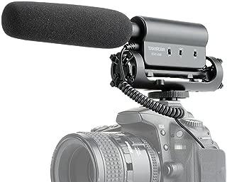 一眼レフカメラ ビデオカメラ 動画撮影用 外部マイク (コンデンサー)