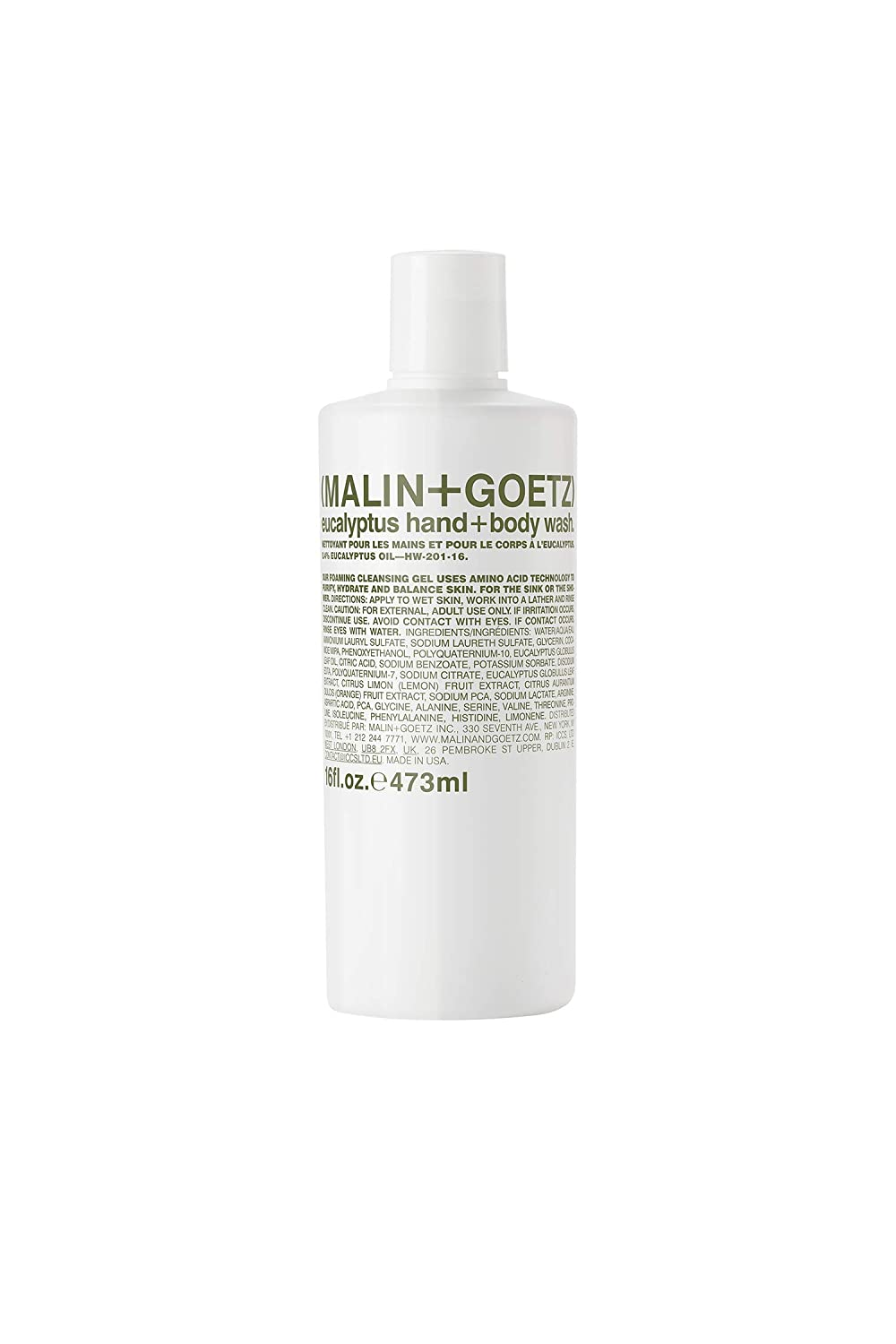 Malin + Goetz Rapid rise Eucalyptus Hand Body Wash — Max 70% OFF purifying cleansing