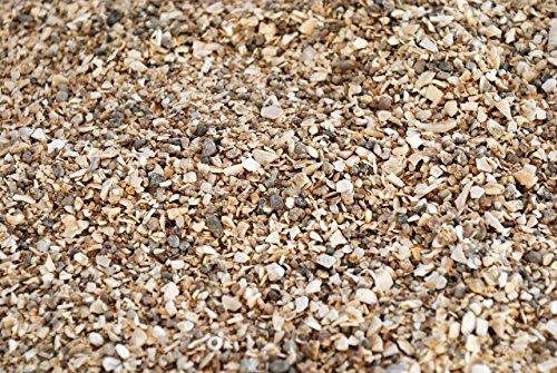 Karner Bio Geflügelfutter Muschelgrit 1-4 mm, im 25 kg Sack