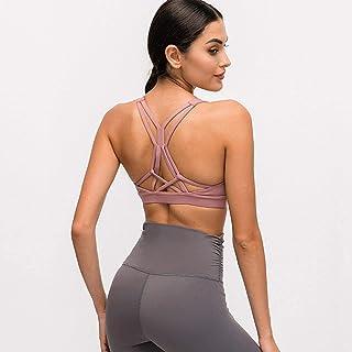 Running Sports Bra Women Yoga Bra High Impact Push Up Bras Fitness Padded Sports Workout Sport Bra Top