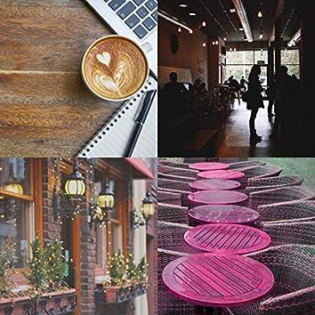 器楽-カフェで勉強する