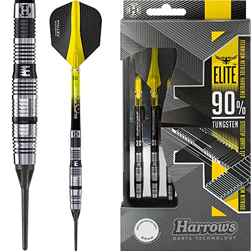 Darts Corner Harrows Elite Fléchettes à Pointe...