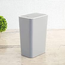 Home Centre Sedona Elissa Solid Push Bin - Grey