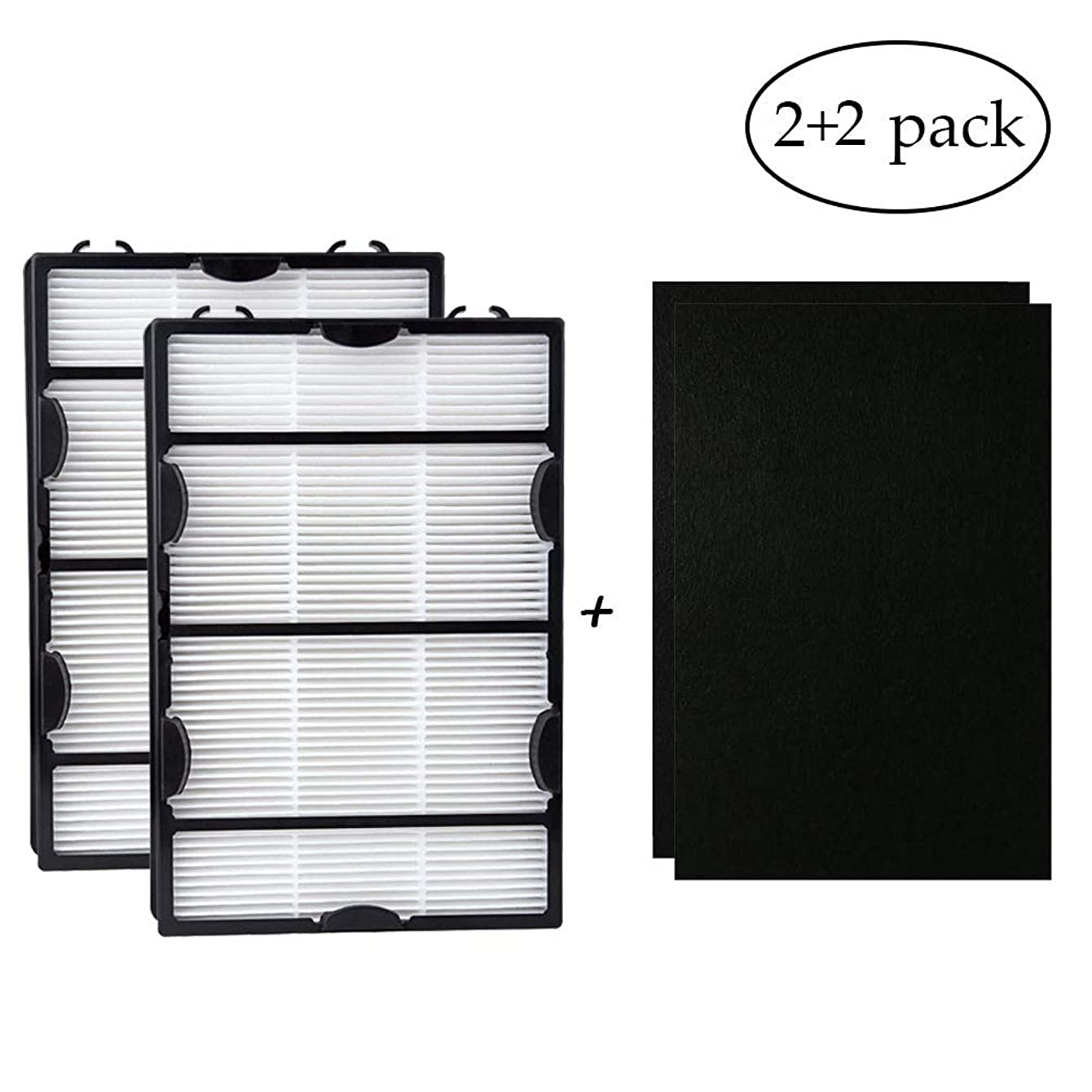 hothuimin 2Pack HAPF600DM-U2 True HEPA Filter with Enhanced Mold Fighting Power #KQLW?