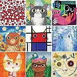 Artsy Cats 500 Piece, Family Puzzle
