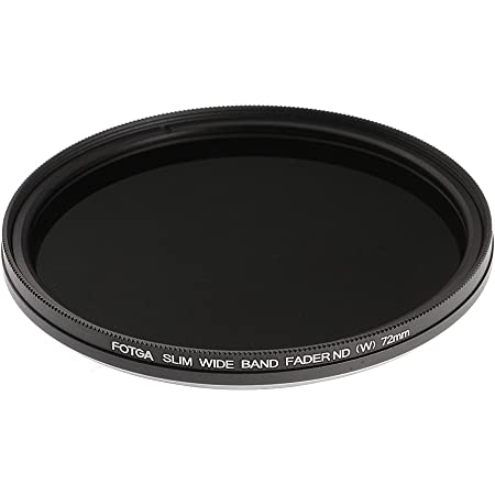 QKOO 72mm ND1000 Filter Professional Photography Ultra Slim Neutral Density ND 1000 72 mm for Nikon Canon Sony DSLR Camera Accessories for Digital Camera Lens