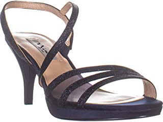 Nina Nazima Strappy Heeled Sandals, Dark Navy