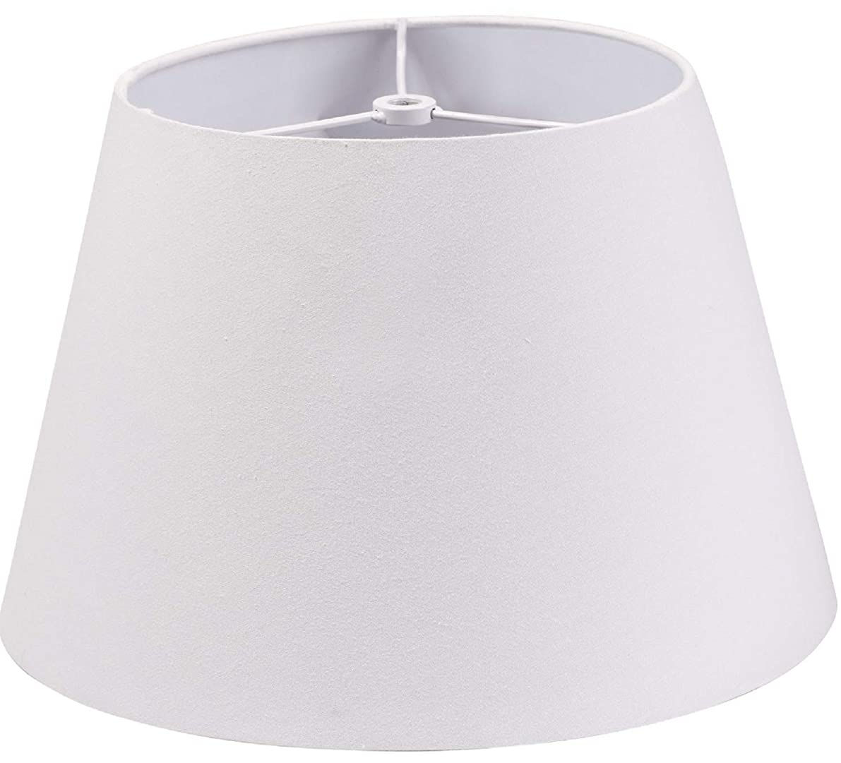 Lamp Shade IMISI Desk Lamp Table Lamp Shade Linen Fabric White Reading Lamp Shades 7.9 X 7.5 X 11.8 Inch Dining Standing White (one-Pack)