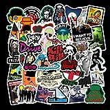 ZNMSB 50 Classic Movie Kill Bill Stickers Trolley Case Skateboard Bagagli Adesivi Impermeabili per Casco per Auto elettriche